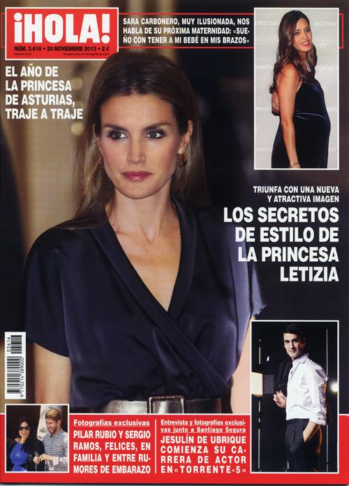 En ¡HOLA!: Los secretos de estilo de la princesa Letizia, las fotografías exclusivas de Pilar Rubio embarazada y más...