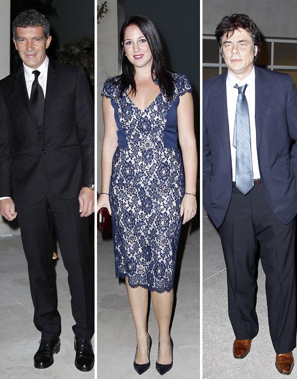 Los Príncipes de Asturias, estrellas de toda una constelación de Hollywood