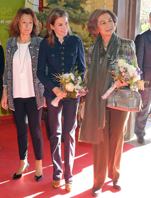 Reina Sofía  y Princesa de Asturias