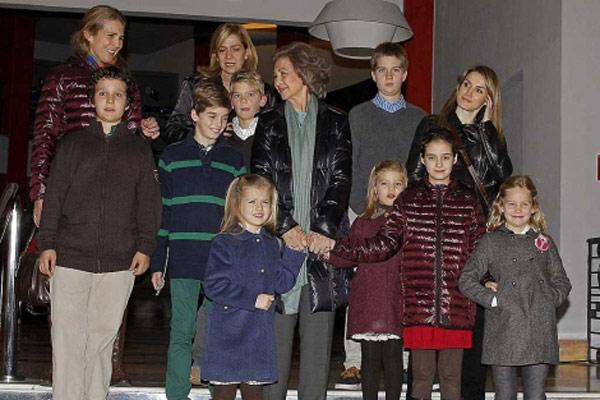 Las navidades de la familia real espa ola - Intercambios de casas en espana ...