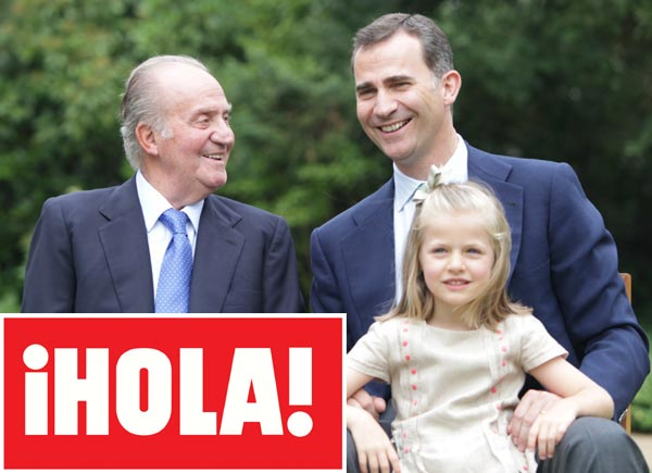 En ¡HOLA!: Don Juan Carlos, el hombre más influyente en la historia de nuestra publicación