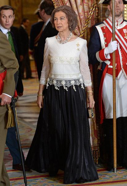 El Rey celebra junto a la Reina y los Príncipes la Pascua Militar