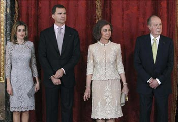 El Rey asigna un sueldo fijo anual a la Reina y a la Princesa de Asturias