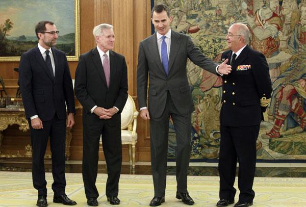 Los Príncipes de Asturias siguen trabajando tras la declaración de la infanta Cristina