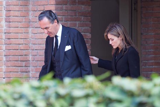 Doña Letizia y la infanta Elena dieron el pésame a Jaime de Marichalar en el domicilio familiar