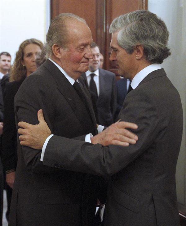 La familia real en el funeral del expresidente Adolfo Suarez Reyes-1-a