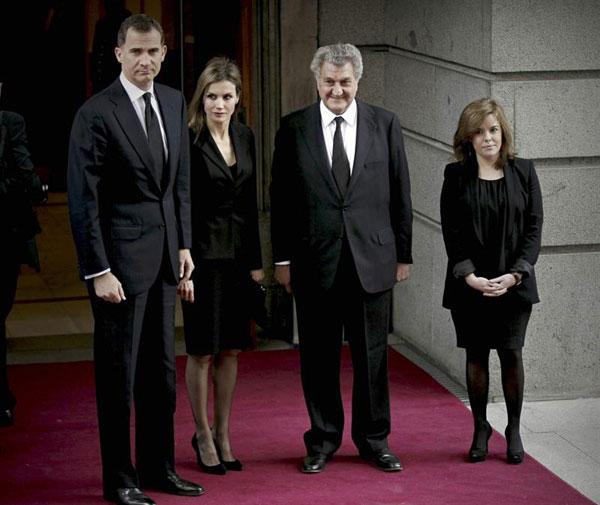 La familia real en el funeral del expresidente Adolfo Suarez Ppes-asturias1-a
