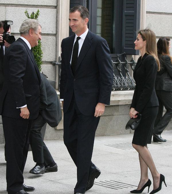 La familia real en el funeral del expresidente Adolfo Suarez Ppes-asturias2-a