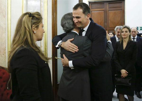 La familia real en el funeral del expresidente Adolfo Suarez Ppes-asturias3-a