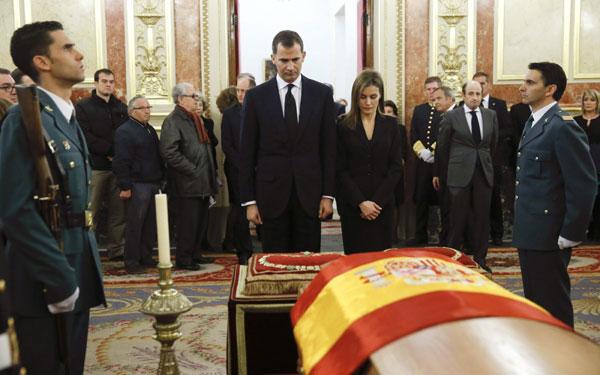 La familia real en el funeral del expresidente Adolfo Suarez Ppes-asturias4-a