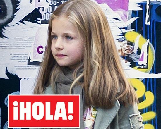 En ¡HOLA!: Tres princesas por el viejo Madrid