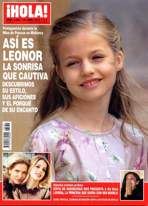 En ¡HOLA!, así es Leonor, la sonrisa que cautiva, descubrimos su estilo, aficiones y el porqué de su encanto; reportaje exclusivo en el que Sofía de Habsburgo nos presenta a su hija Larissa...