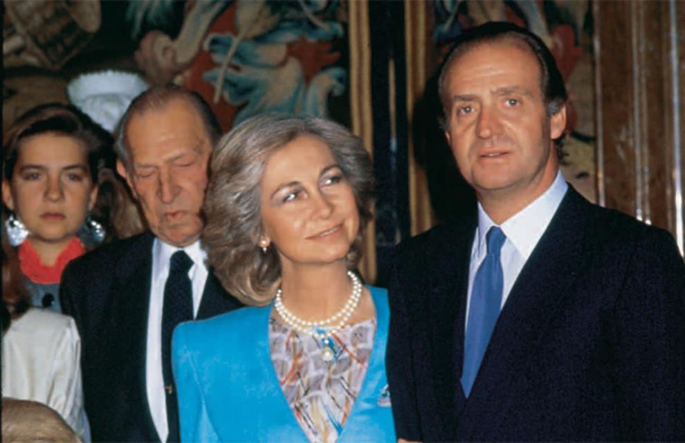 Bodas de plata de los Reyes , Los Reyes celebraron el 14 de mayo de 1987 sus bodas de plata matrimoniales. Veinticinco años de unión y una gran familia como