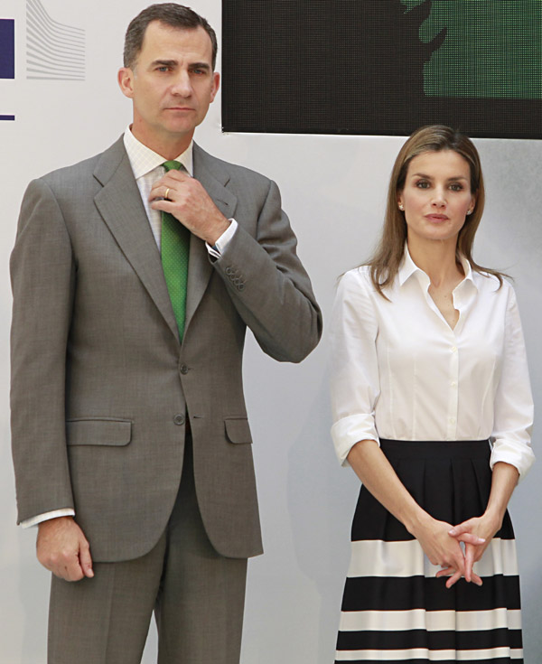 Nuevo acto oficial de los próximos Reyes de España