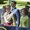 Los Reyes y los Príncipes de Asturias reaparecen hoy juntos tras anunciar la abdicación