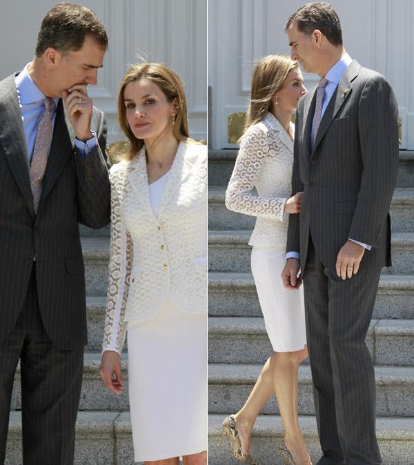 Los Reyes y los Príncipes ofrecen un almuerzo al Presidente y a la Primera Dama de México en la Zarzuela