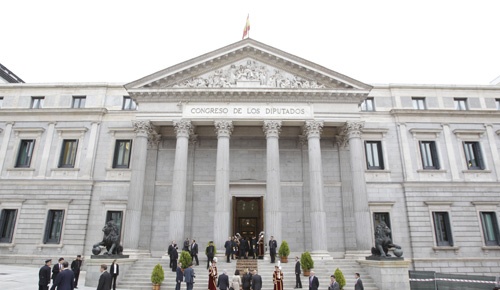 Madrid se blinda ante la proclamación del nuevo Rey