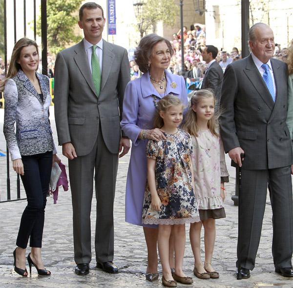 La nueva Familia Real española