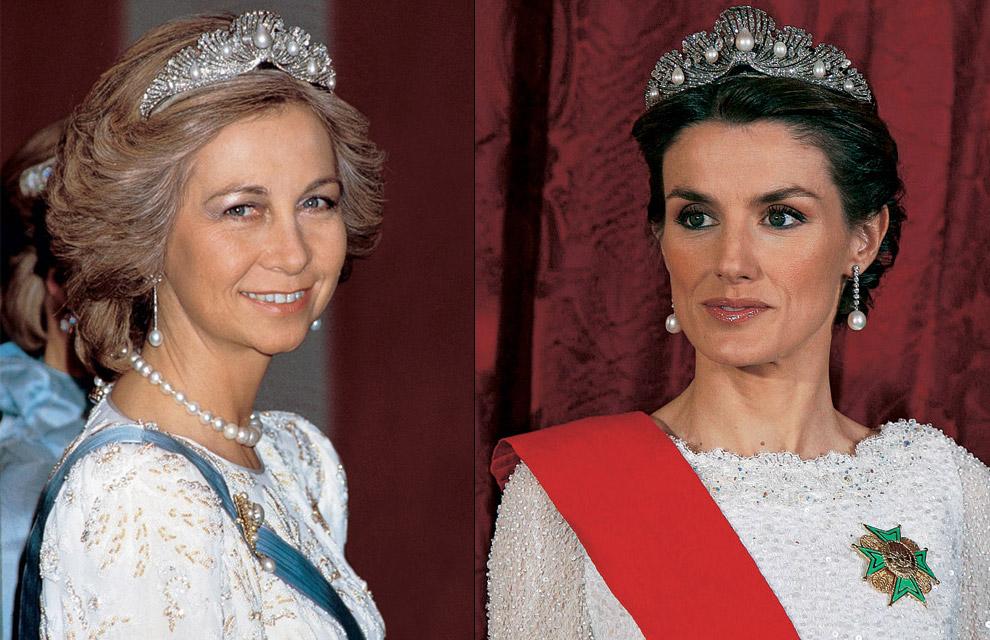 La reina Sofía cede a doña Letizia las joyas de las Reinas de España
