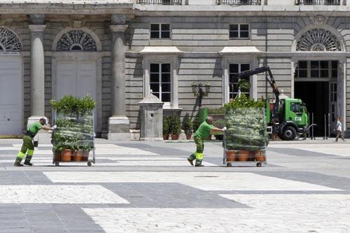 Madrid se viste de gala para la histórica proclamación de Felipe VI