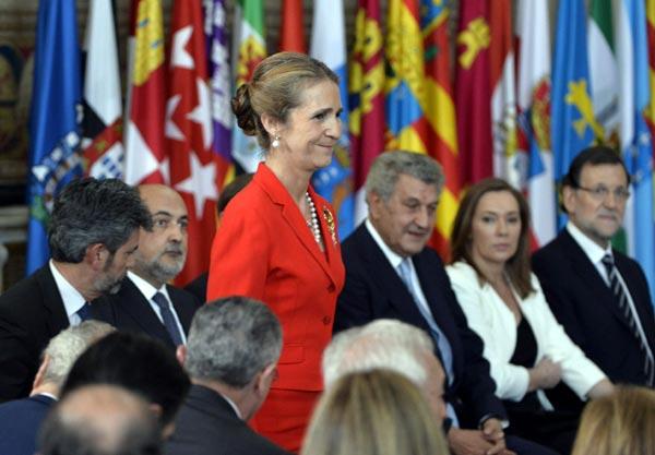 Familia, amigos y la clase política española han sido testigos de la abdicación del Rey