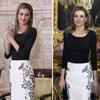 Doña Letizia repite 'look' en su última aparición como Princesa de Asturias