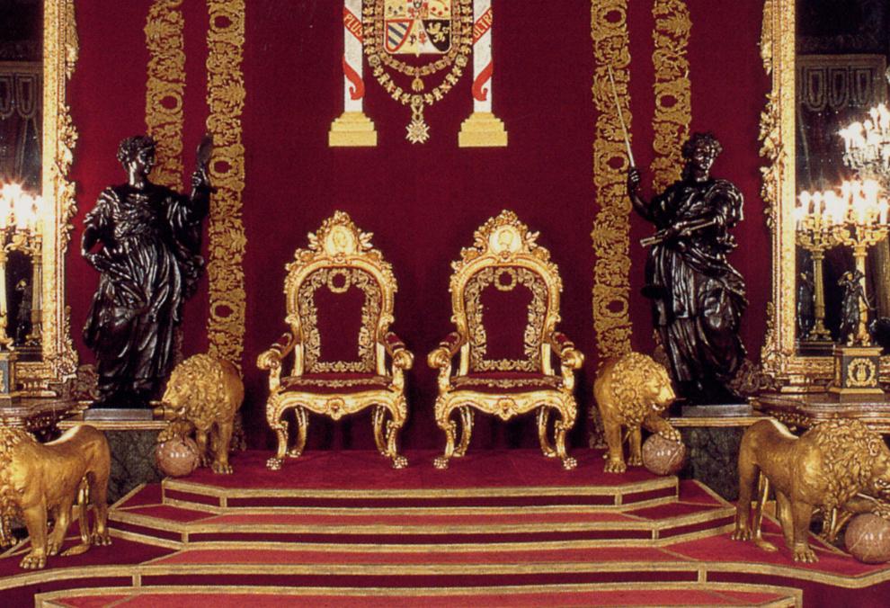 Felipe vi el palacio real majestuoso escenario para la for Sala 0 palacio de la prensa