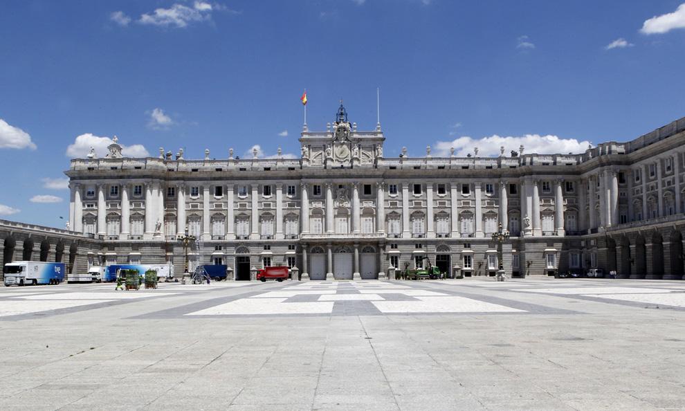 El Palacio Real: majestuoso escenario para la coronación de Felipe y Letizia