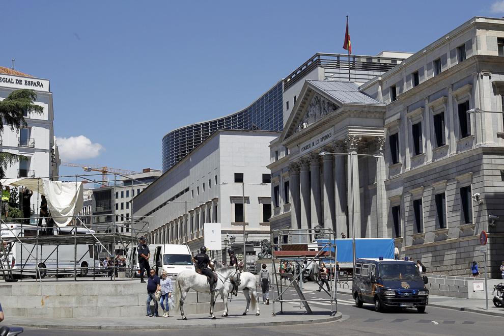 El Congreso de los Diputados, testigo de la proclamación de Felipe VI