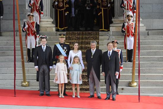 Solemne y emotiva proclamación de Felipe VI como Rey de España