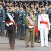 El rey Felipe VI viste el uniforme de gran etiqueta del Ejército de Tierra