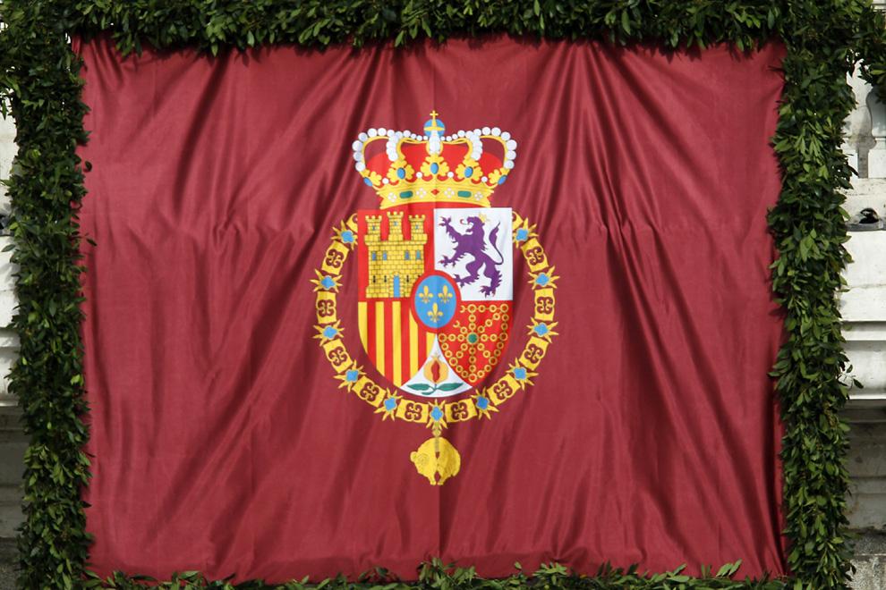 Así es el escudo de Felipe VI
