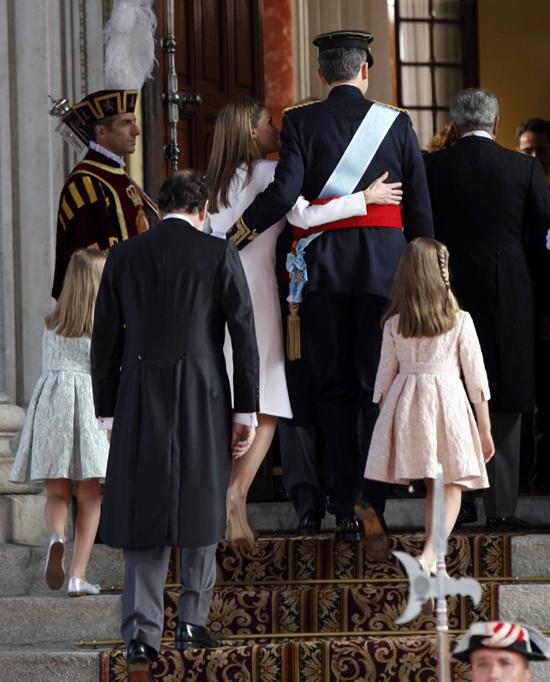 Felipe VI y doña Letizia, dos Reyes enamorados en un día para la historia