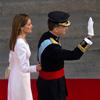 Los primeros pasos de los nuevos Reyes de España