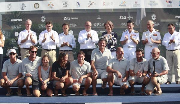 La reina Sofía sorprende en Valencia en el trofeo deportivo que lleva su nombre