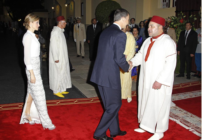 Y Felipe Los Reyes Todos LetiziaRecibidos Marruecos Con Honores En htCQrds