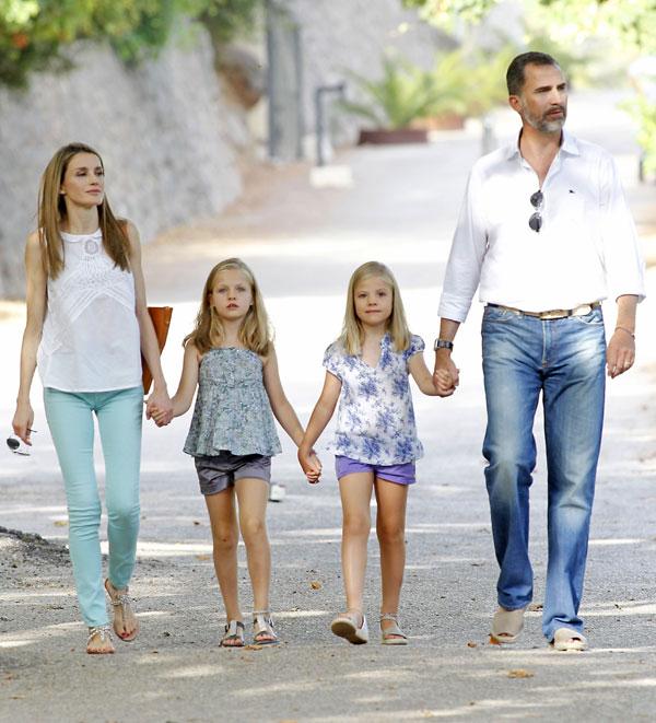 Así será el verano de la Familia Real española