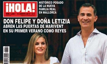 Esta semana en ¡HOLA!, don Felipe y doña Letizia abren las puertas de Marivent en su primer verano como Reyes