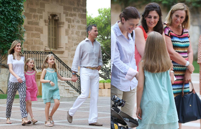 Los primeros veranos en Palma de don Felipe como Príncipe de Asturias