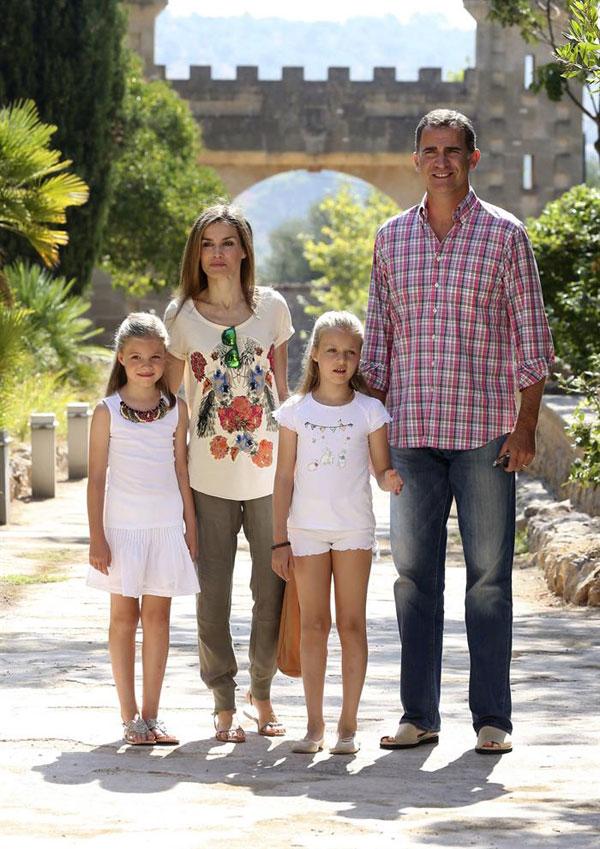 La curiosidad de la princesa Leonor en el nuevo posado familiar de los Reyes y sus hijas en la finca Raixa de Mallorca