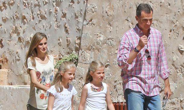 Las pequeñas vacaciones de los reyes Felipe y Letizia