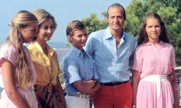 Así se despidieron del verano los Reyes de España en 1981