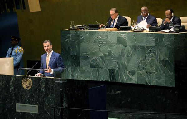 Del primer discurso en la ONU del Rey a la recepción de don Felipe y doña Letizia como anfitriones en NY