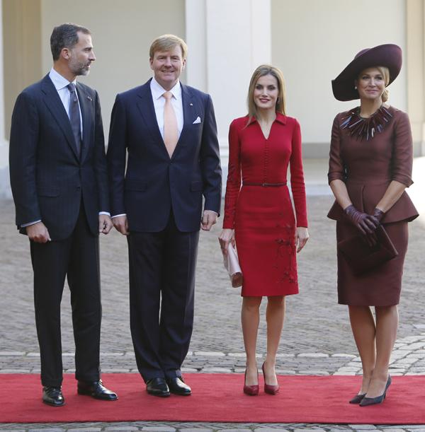 Doña Letizia y Máxima de Holanda, Reinas y amigas