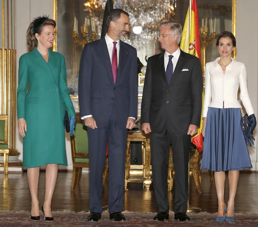 Los reyes contin an su viaje oficial en b lgica foto 1 - Casa de los reyes de espana ...
