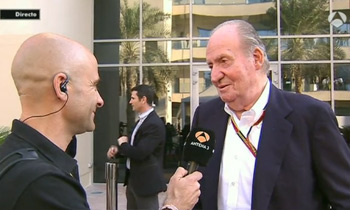 El rey Juan Carlos desvela, sin querer, el secreto mejor guardado de Fernando Alonso
