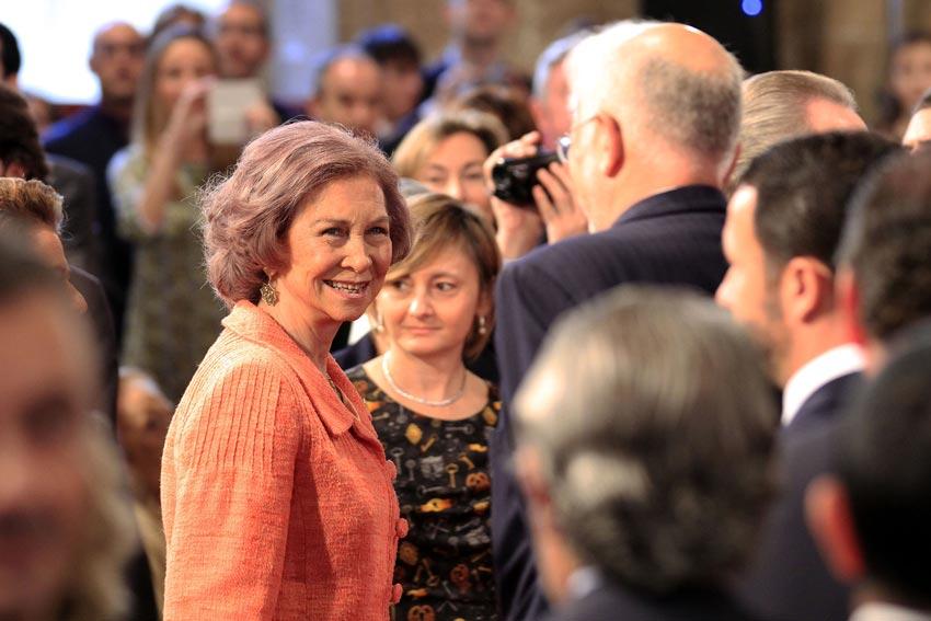 La reina Sofía: más que una 'puntual ayuda' a la agenda oficial de los Reyes