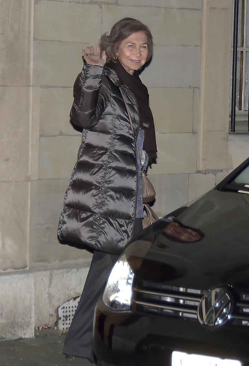 Primicia en hola.com: La reina Sofía vuelve a Ginebra adelantándose al cumpleaños de su nieto