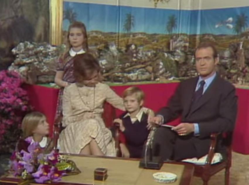 Así fue el primer mensaje de Navidad de don Juan Carlos como Rey