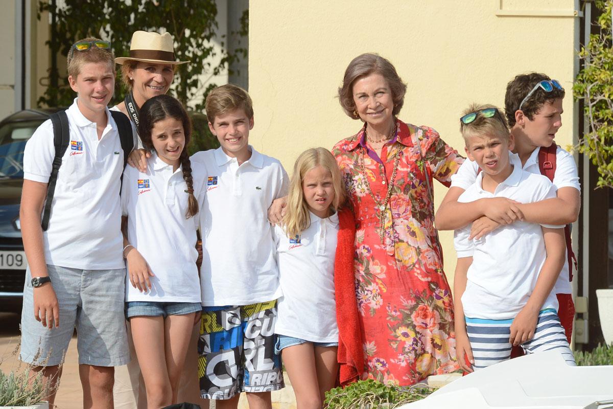 La Princesa Leonor no es la única que recibirá la Primera Comunión en la familia Borbón